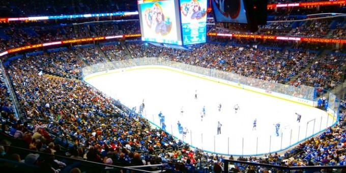 Tampa Bay Lightnings hemmarink!