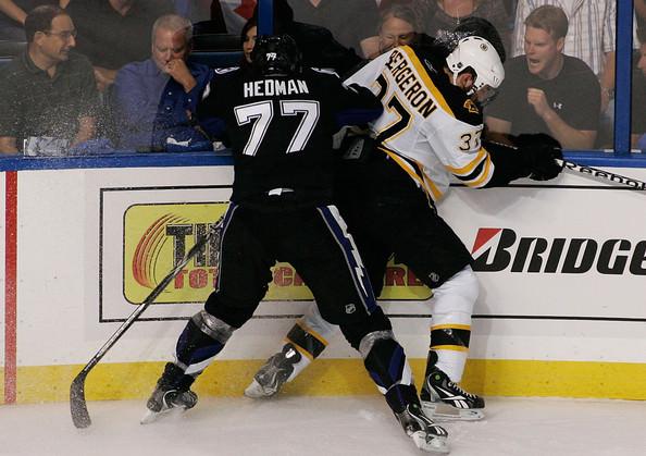 Hedman VS Bergeron
